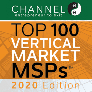 Cloudticity Named to ChannelE2E Top 100 Vertical Market MSPs